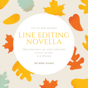 Line Editing - Novella