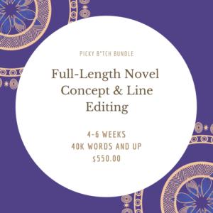 Picky B-Tch Bundle - Full-Length Novel Concept & Line Editing