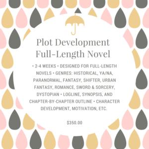 Plot Development - Full-Length Novel